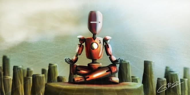 yoga robot